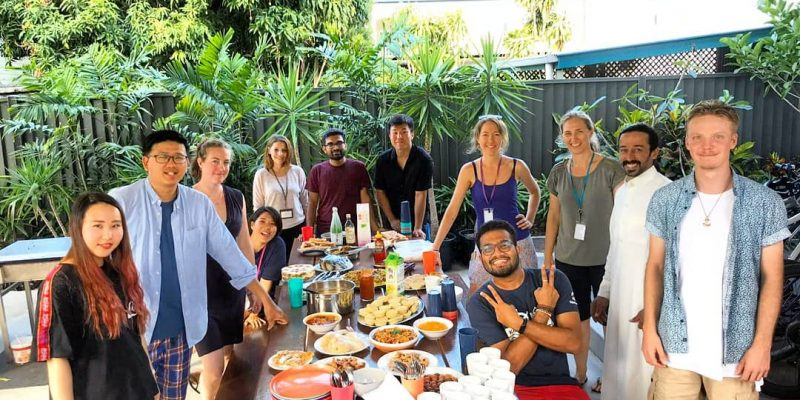 Cairns Kangarooms - Student Event - International Food Share Day