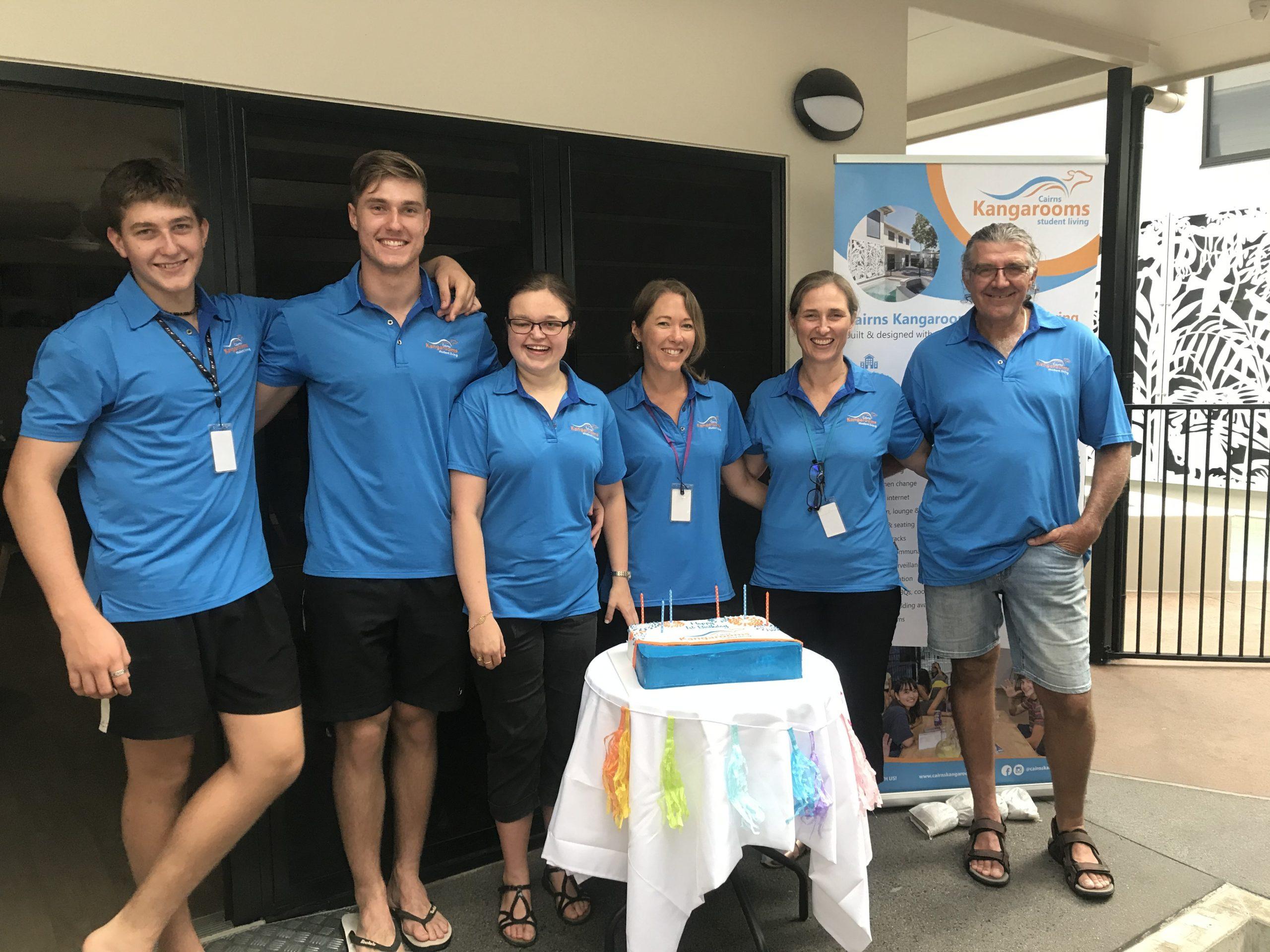 Cairns Kangarooms Team - February 2020