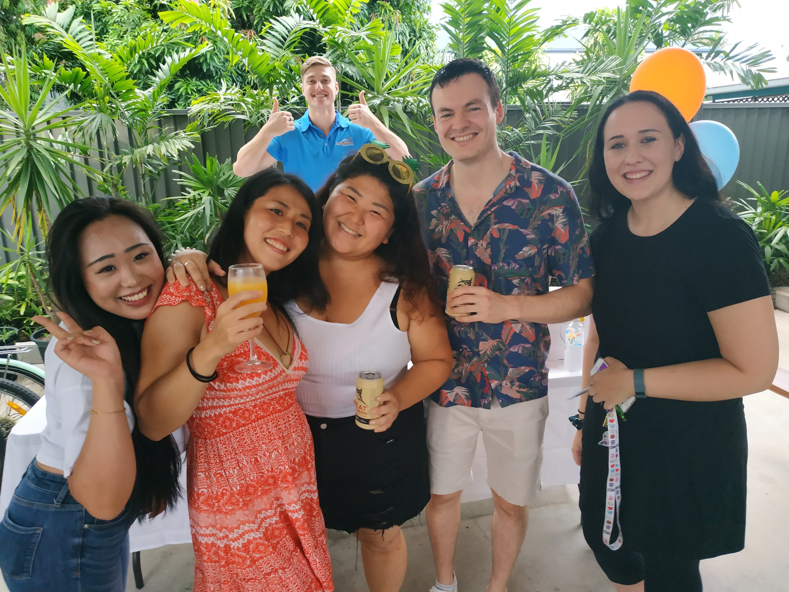 Share Accommodation Cairns student share house - Kangarooms Birthday Event
